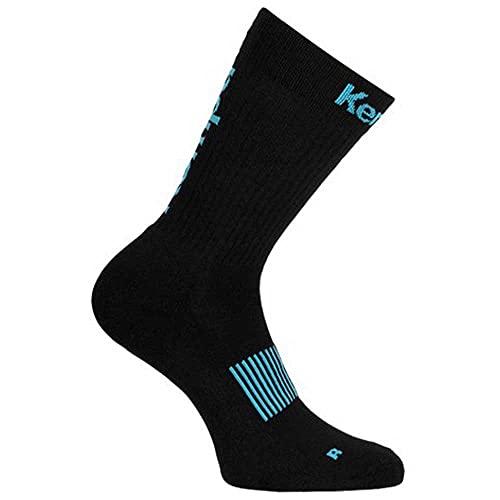 Kempa Unisex Logo Classic Socks Winter-Zubehr-Set, schwarz/grün, 36-40