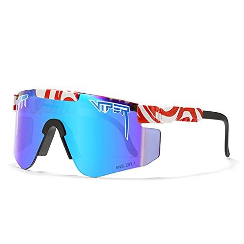 Gafas de sol C43 Ciclismo Z87 lente TR marco grande PC integrado a prueba de viento gafas para ciclismo, béisbol, pesca, esquí correr, golf