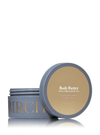 Bath and Body Works Birch and Argan 6.5oz Body Butter