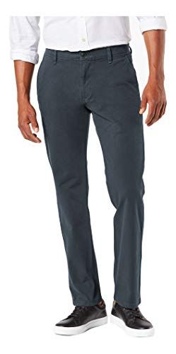 Dockers Men's Straight Fit Ultimate Chino Pants, cool slate, 38W x 30L