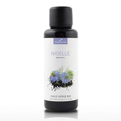 Nigelle - Huile Végétale Vierge BIO - Flacon en verre - Première pression à froid - 50mL
