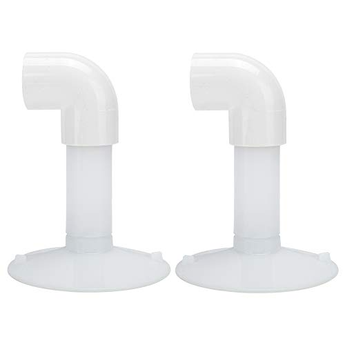 Ventosa de plástico, Multiusos de plástico, Blanco Pesado, Resistente, Profesional, con Ventosa, 2 ventosas para Quitar Herramientas para amueblar y Reparar Pantallas de TV