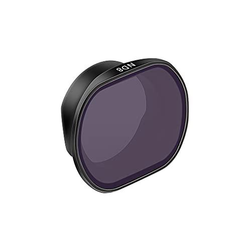 Fututech - Filtro professionale per DJI FPV, filtro UV CPL ND, leggero, impermeabile, anti-olio, immagine migliorata, protegge la lente filtra la luce parasite (filtro ND 8)