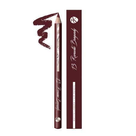 ALKEMILLA - Lip Pencil n.13 - Intensiver Burgunder - weiche Textur - präzise Anwendung - Umriss und...