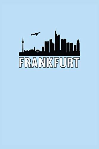 Cuaderno de Frankfurt: Cuaderno de Frankfurt agenda agenda de escritura libro | punteado (120 páginas, 15.2 x 22.9 cm, 6' x 9' ...) regalo para ... (Ciudades europeas: cuadernos de viaje)