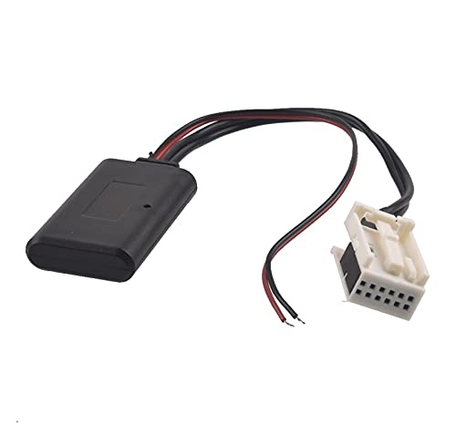 FSLLOVE FANGSHUILIN Coche Bluetooth Aux Adaptador Radio inalámbrico Cable estéreo RD4 Fit...