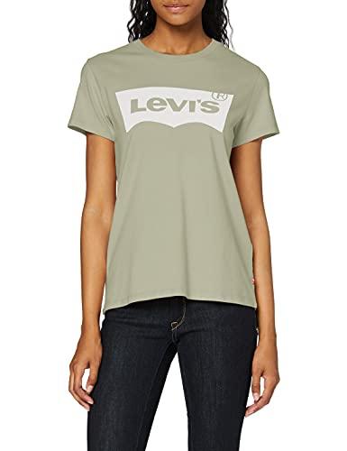 Levi's Damen The Perfect Tee T-Shirt, Seasonal Bw T2 Desert Sage, L
