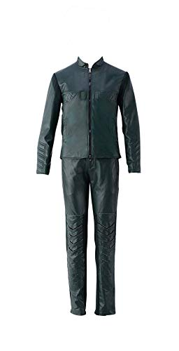 Mtxc Men's Cosplay Oliver Queen Costume 1st Kid Size Large Green