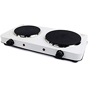 Oypla 2.5Kw Electric Portable Kitchen Double Hot Plate