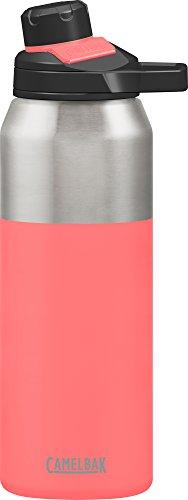 Camelbak Chute Mag Bouteille d'eau isotherme en acier inoxydable Rose (corail) 90 ml