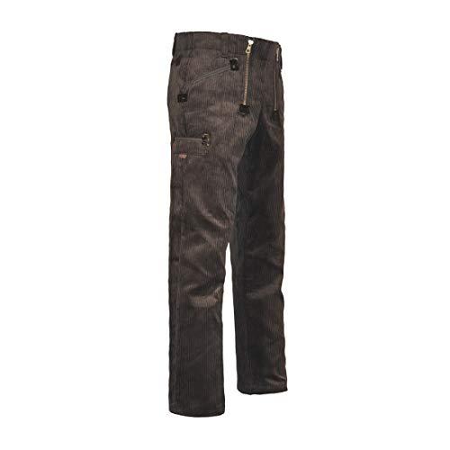 EIKO 4121 Gr. 58 Zunft - Hose Arbeitshose Trenker-Cord schwarz