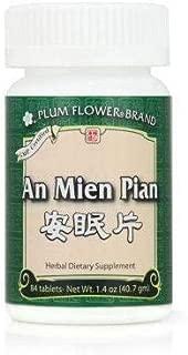 An Mien Pian, 84 Tablets Plum Flower MW# 3919