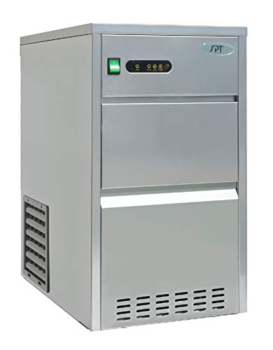 IM-442C: 44 lbs Automatic Stainless Steel Ice Maker