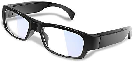 WISEUP 16GB 1920x1080P Wearable Hidden Camera Glasses Mini DV Camcorder Video Recorder (2018 Version)