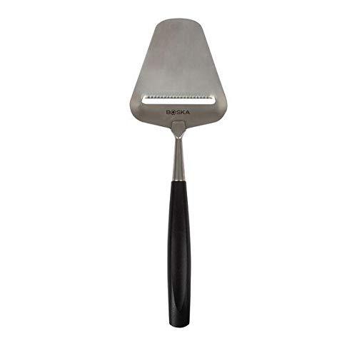 BOSKA 307410 Milano Cheese Slicer, Adjustable Thickness, Black