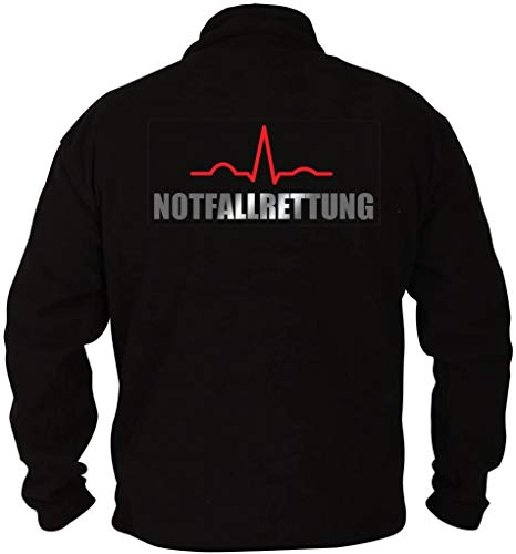 Rescue Point Notfallrettung Herren Fleece Sweatshirt PRETTER2 (L)