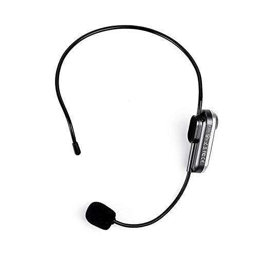 K380 Bluetooth microfoon met draagbare kop, met FM-zender voor het luisteren van de sprekende luidspreker (kleur: zwart)