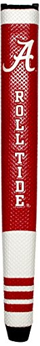 Team Golf NCAA Alabama Crimson Tide Golf Putter Grip with Removable Gel Top Ball Marker, Durable Wide Grip & Easy to...