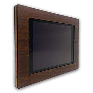 Apple iPad Air1, iPad Air2, iPad 5, iPad 6 und iPad Pro 9,7″ NobleFrames Tablet Wandhalterung aus Robinie