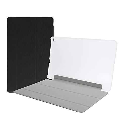 T opiky Funda Protectora para Tableta, Estuche Protector para Tableta y portátil Carcasa ultradelgada anticaída con Tapa, para Alldocube iplay 20(Negro)