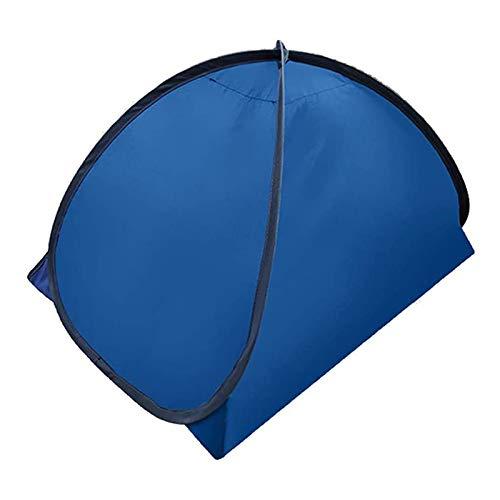 Guoyihua Pop-Up-Strandzelt, Strandmuschel, tragbarer Sonnenschutz mit Telefon-Ständer, Tasche für Strand, Sonnenbad, winddicht, sanddicht M M