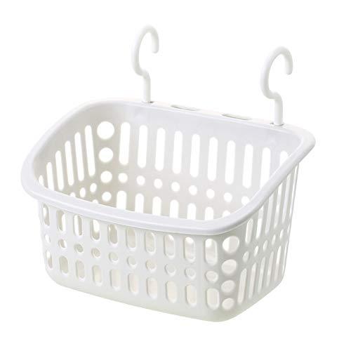weimay 1x Noche Mesa almacenar colgantes de cesta cesta Cocina Cuarto de baño Cuarto de baño–Cesta, tamaño: 13,5cm * 22cm * 17cm ( Gris Blanco )
