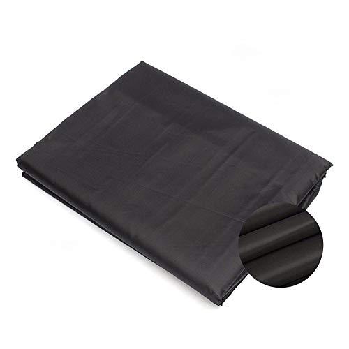 Gartentisch Abdeckung 90x90x90cm Quadratisch Garten Möbelsets Winddicht, UV-Beständiges für Tisch und Stühle Outdoor, Schwarz