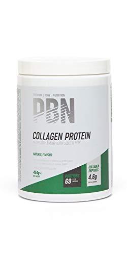 PBN - Bote de proteína de colágeno, 454 g (sabor natural)