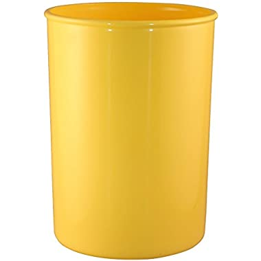 Calypso Basics by Reston Lloyd Plastic Utensil Holder, Lemon