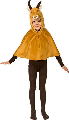 Umhang mit Kapuze für Kinder, Mädchen, Jungen, Safari, Rugby, afrikanisches Kostüm, Outfit