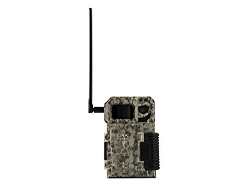 SPYPOINT Link Micro Nationwide Version (Smallest on The Market!) Wireless/Cellular Trail Camera, 4 Power LEDs, Fast 4G Photo Transmission w/Preactivated SIM, Fully Configurable via App