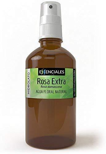 Essenciales - Hidrolato de Agua Floral de Rosa Extra, 100% Pura y...