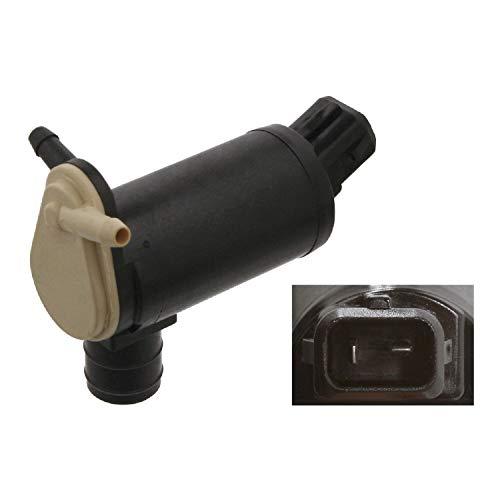febi bilstein 06084 Waschwasserpumpe für Scheibenreinigungsanlage , 1 Stück