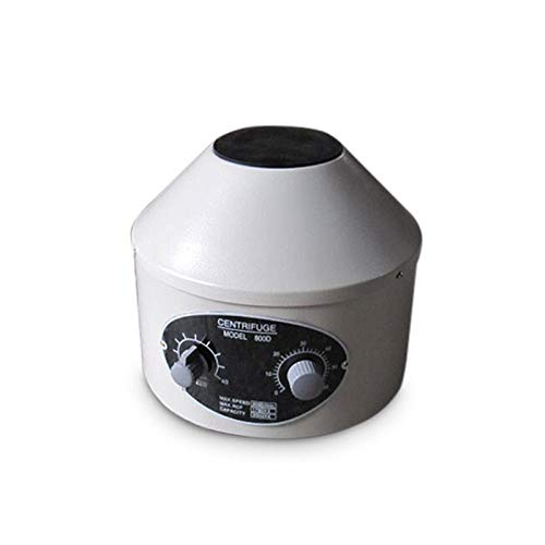 Centrifugadora eléctrica Práctica médica de laboratorio Capacidad centrífuga 20 Ml X6 Máquina Centrífuga de mesa de trabajo 25W 0-4000rpm