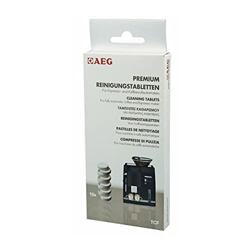 Reiniger Tabs Kaffeeautomat 10x CaFamosa-Kaffeemaschinen Electrolux AEG 950078803 899663910480