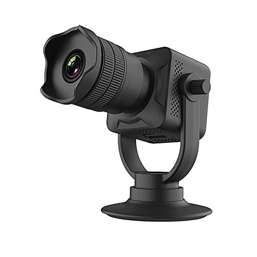 CHENPENG Mini cámara espía 12X Zoom 720P WiFi Cámaras de Seguridad remotas, con visión Nocturna y detección de Movimiento, cámara espía Oculta para el hogar y la Oficina