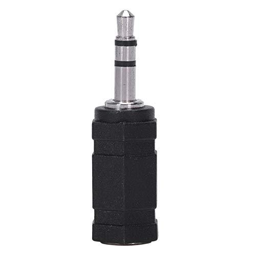 Mogzank 2.5mm Estereo Hembra a 3.5mm Estereo Macho Enchufe Jack Adaptador de Audio, Negro