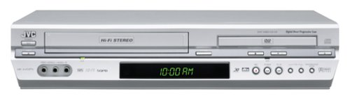 Lowest Prices! JVC HRXVC27U Progressive Scan DVD / VCR Combo, Silver