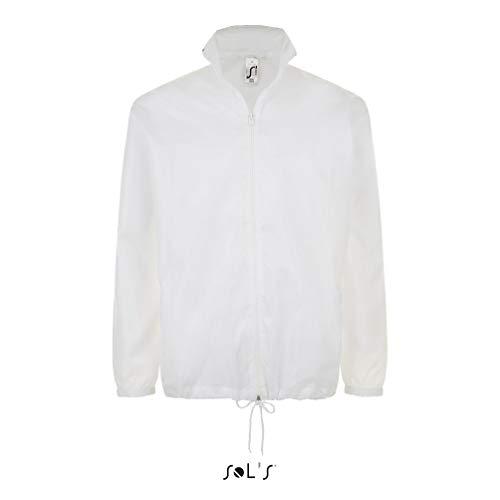 SOL´S Shift Windbreaker, Größe:XL, Farbe:White