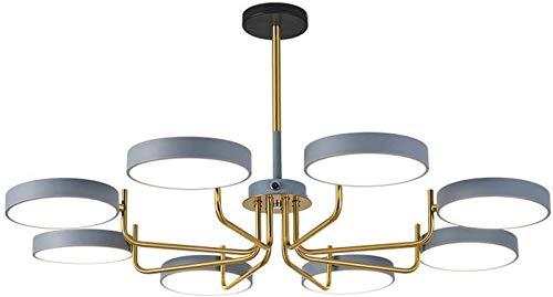 GYC Lámpara de araña de Estilo nórdico, lámpara de Sala de Estar, atmósfera Minimalista Moderna, lámparas de Comedor de Dormitorio con Personalidad Creativa para el hogar