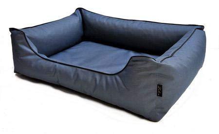 Lebon Hundebett Paula Plus - Grau 100 x 75 cm - Sie erhalten 1 Packung/en