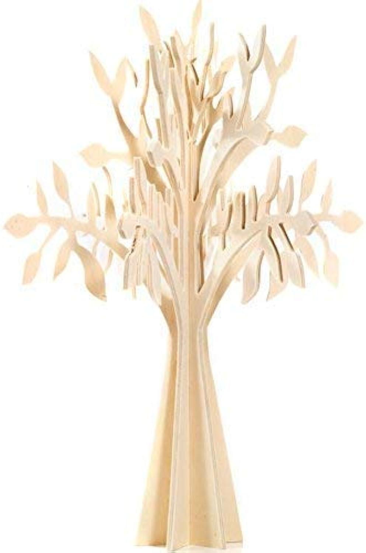 Arbre de vie en bois naturel sectionnel 90 cm