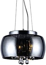 Pendente/Plafon De Cristal Coliseu 300 Fumê 3xG9 75w (25w Por Soquete) - Taschibra