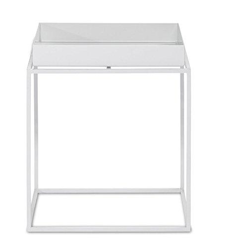 HAY - Tray Table - weiß - 30 x 34 x 30 cm - Design - Beistelltisch - Couchtisch - Sofatisch