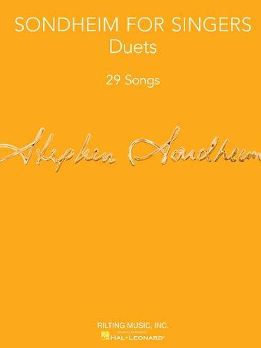 Sondheim for Singers: Duets (29 Songs)