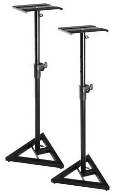 On Stage SMS6000 Adjustable Monitor Stands (Pair) by On Stage