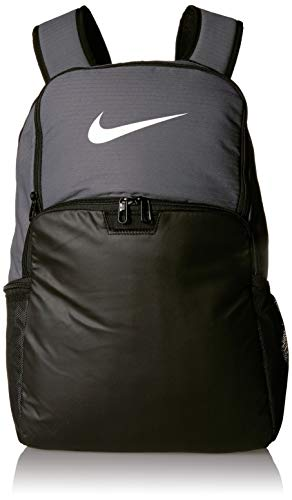 NIKE Nk Brsla XL Bkpk - 9.0 (30l) Backpack, Unisex Adult, unisex_adult, Daypack, BA5959, Flint Grey / Black / White, one size