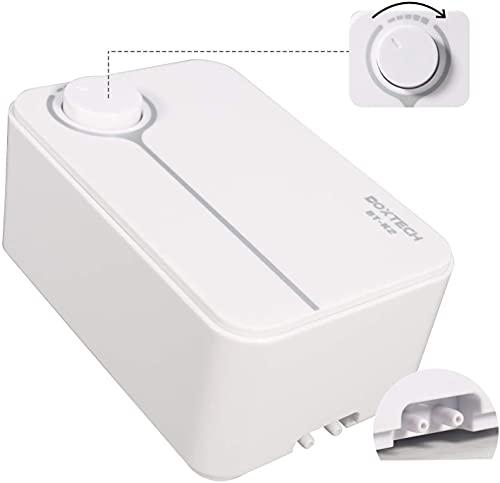 boxtech Ultra-Leise Luftpumpe für Aquarium, Die Luftpumpe kann die DREI Anforderungen erfüllen, leise, vibrationsarm und ausreichend Sauerstoff