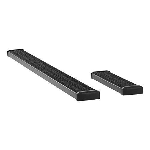 LUVERNE 415100-400744 Grip Step Black Aluminum 100-Inch, 36-Inch Cargo Van Running Boards for Select Dodge, Freightliner, Mercedes-Benz Sprinter 2500, 3500