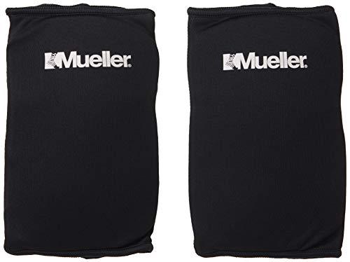 Mueller Multi-Sport Knee Pads, 1 Pair, Black, One...